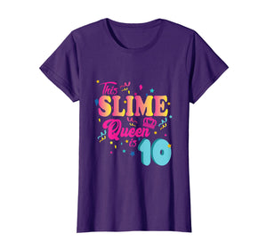 10th Birthday Gift For Girls 10 Year Old Girl Slime Queen