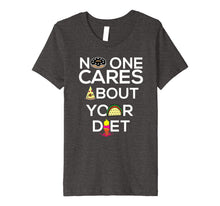 Load image into Gallery viewer, No One Cares About Your Diet Shirt | Cool Pro Food Tee Gift