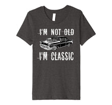 Load image into Gallery viewer, Premium Classic not old Funny Car Lovers Awesome Gift Tshirt