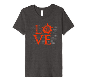 Love Supernatural T-Shirt For Men Woman Kids