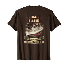 Load image into Gallery viewer, Navy USS Fulton (AS-11) T-Shirts