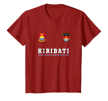 Load image into Gallery viewer, Kiribati T-shirt Sport/Soccer Jersey Tee Flag Football