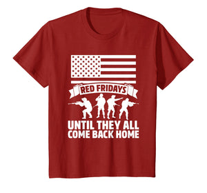 On Friday We Wear Red Fridays Military Shirts Military Gifts