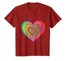 Load image into Gallery viewer, (You Have A) Beautiful Rainbow Heart T-Shirt