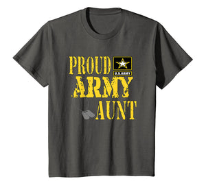 Proud Army Aunt Shirt Military Pride T Shirt