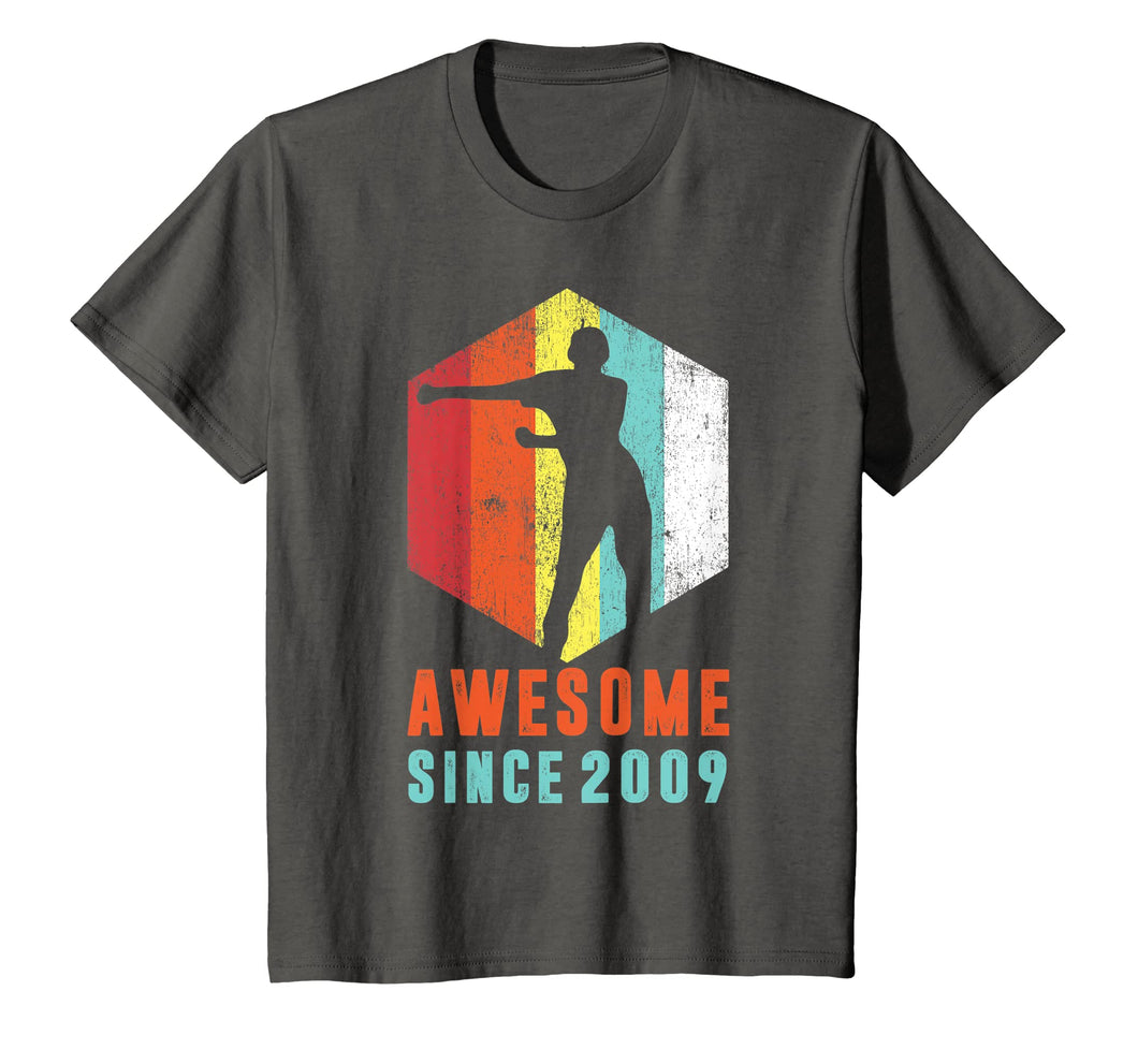 10th Birthday T-Shirt Awesome Since 2009 Floss Like A Boss