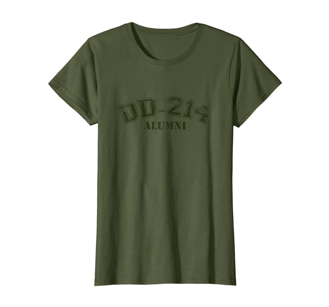 DD-214 Alumni T-Shirt Independence, Veterans & Memorial Day