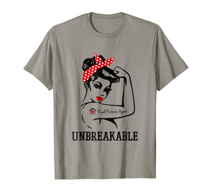 Real Estate Agent Unbreakable t-shirt