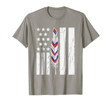 Load image into Gallery viewer, American Flag Native Tribe Feather Pride Shirt
