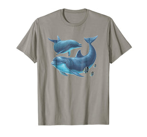 Dolphin T Shirt Tshirt for men women boys girls kids