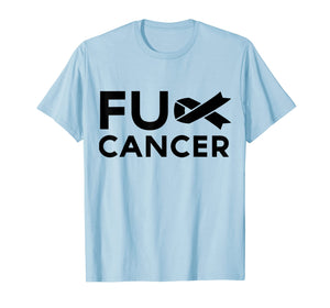 F.ck Cancer Tshirt Fck Cancer Fight Back Tee F.ck Cancer