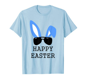 Mens Bunny Ear Headband Happy Easter Shirt Adult Dad Uncle Gift