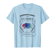 Load image into Gallery viewer, Mammoth Lakes T Shirt Summer Winter Hiking Adult Kid Apparel