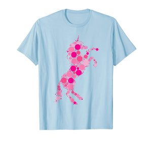 Pink Polka Dot Unicorn International Dot Day T-Shirt