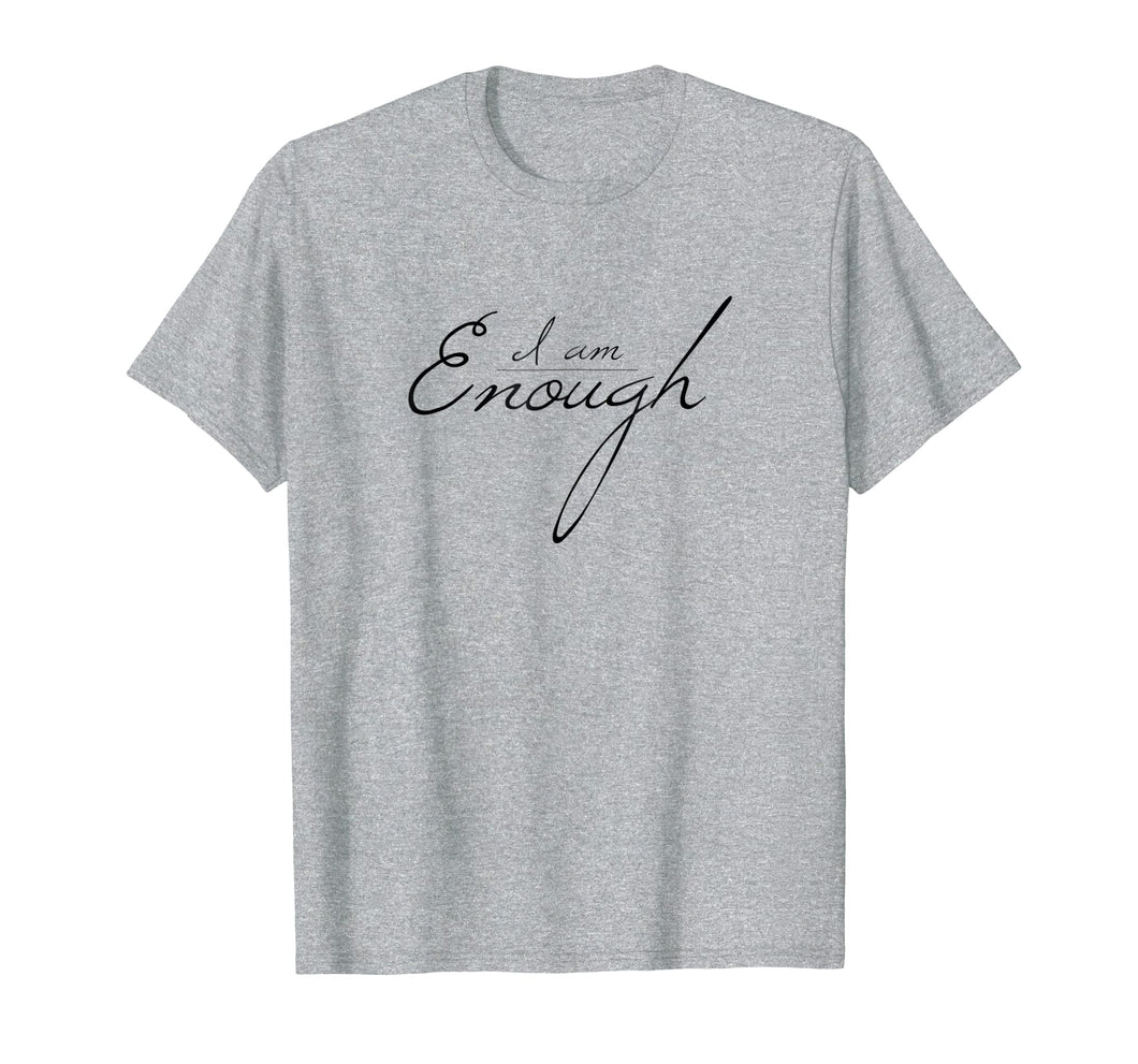 Cute Minimalist Self-love  Enough  Love yourself Tee Gift