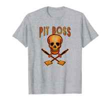 Load image into Gallery viewer, PIT BOSS Grilling T-Shirt Skull and Spatulas