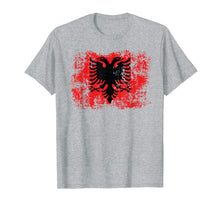 Load image into Gallery viewer, Albania Shirt Albanian Flag T-Shirt Proud Albanian Patriots