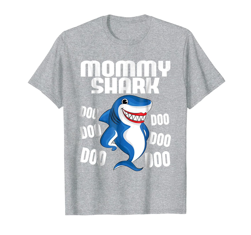 Mommy Shark T-shirt Doo Doo Doo - Mother's Day Gift Tee 1
