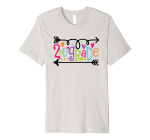 2nd Grade T-Shirt Funny Second Grade Back To School Gift