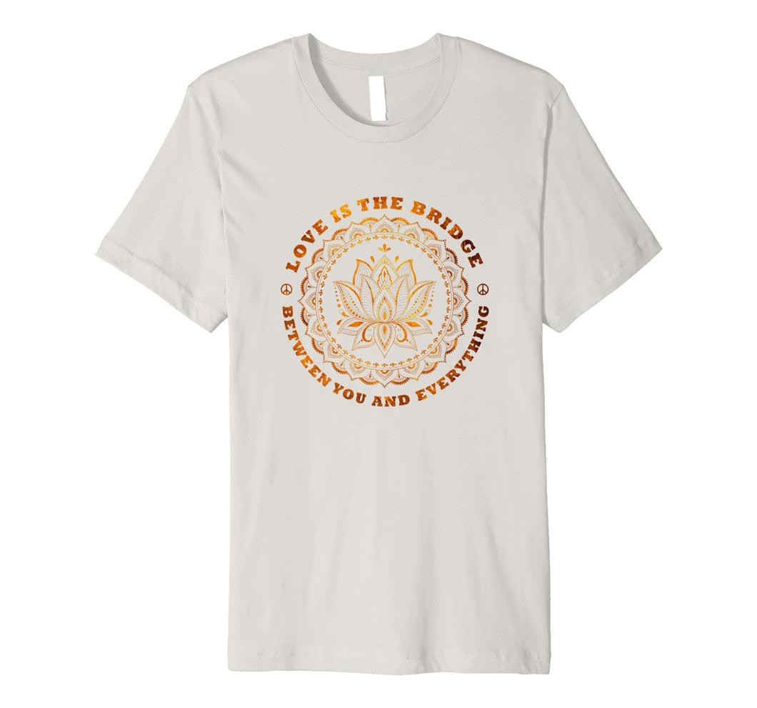 Spiritual Lotus Zen Buddha Yoga Quote T-Shirt for Men Women