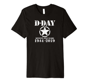 D-Day 75 Year Anniversary TShirt