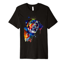 Load image into Gallery viewer, Labrador T-Shirt Gift Labrador Artistic Funny Dog Breed