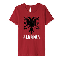 Load image into Gallery viewer, Albania Shirt Independence Day Gift Albanian Eagle Premium T-Shirt