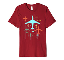 Load image into Gallery viewer, Cute Vintage Airplanes | Fly Airplane Pilot T-Shirt