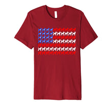 Load image into Gallery viewer, Poodle 4th of July USA American Flag Patriotic Men Women Dog Premium T-Shirt