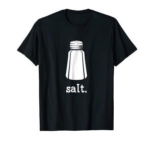 Salt Shaker Halloween Costume T-Shirt for Couples