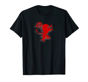 2 Titan lion shirt