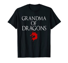 Load image into Gallery viewer, Best Grandma Of Dragons - Funny Grandmother Tshirt Gift
