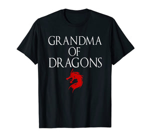 Best Grandma Of Dragons - Funny Grandmother Tshirt Gift
