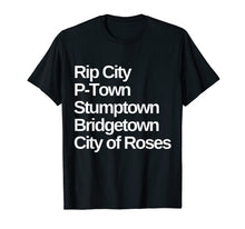 Load image into Gallery viewer, Portland Nicknames Oregon T-Shirt