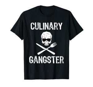 Culinary Gangster Funny Cooking Chef T-Shirt