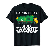Load image into Gallery viewer, Garbage Day Recycling Trash Truck Shirt Kid Boy Gift T Shirt