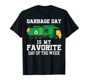 Garbage Day Recycling Trash Truck Shirt Kid Boy Gift T Shirt