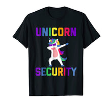 Load image into Gallery viewer, Unicorn Security Funny Gift T-Shirt