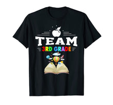Load image into Gallery viewer, 3rd Grade Teacher Team Heart Back To School Teacher Tshirt
