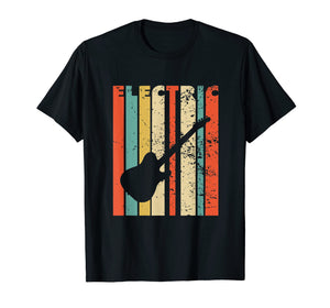 Vintage Electric Guitar Shirt Electric Guitar Gift
