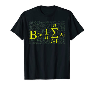 Be Greater Than Average - Math Lovers Back To School T Shirt