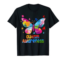 Load image into Gallery viewer, Autism Awareness TShirt Gift Colorful Butterfly Autism