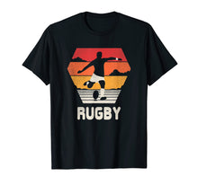 Load image into Gallery viewer, Rugby T Shirt Retro Vintage 70s 80s Style Rugger Gift