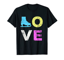 Load image into Gallery viewer, Love Skate Team Fan Gift T-Shirt