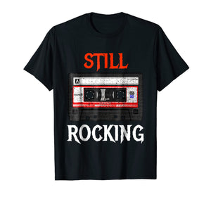 Classic Rock Cassette Tape T-Shirt - Funny 80's Vintage Tee