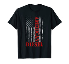 Load image into Gallery viewer, American Diesel Flag Truck Turbo Brothers T-Shirt Gift