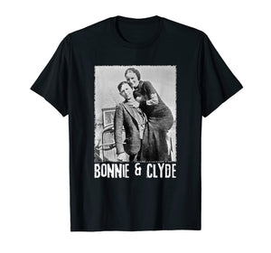 Bonnie & Clyde Matching Couple Shirts and Adult Costumes
