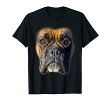 Load image into Gallery viewer, Animal Lover Gift Boxer Face Funny Dog Lovers T-shirt