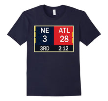 Load image into Gallery viewer, NE 3 ATL 28 Final T-shirt 2 Sides 1 Game