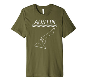 Race Track in Austin | Car Racing Circuit Fan T-Shirt